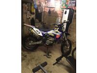 Sherco 300 SEF-R road legal on 17 plate