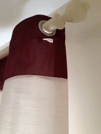 Catherine lannsfield curtain with free tie backs