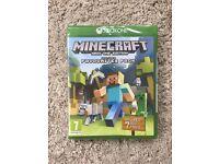 ***SEALED*** Minecraft: Xbox One Edition + 7 DLC PACKS