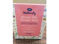 Boots Breast Milk Storage Bags Brand new box