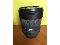 Sigma 12-24 wideangle lens Canon fit