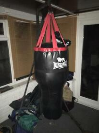Punchbag and stand