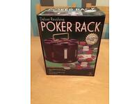 Poker Table To and Poker Rack