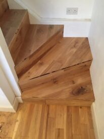 Laminate and hardwood fitters fitting from £5 per sq mtr also fit carpets amtico karndean vinyl