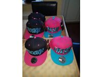 Set of 8 hats. One size fits all