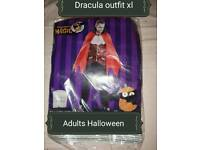 Brand new Halloween Dracula Costome xl xlarge