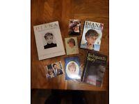 Princess Diana collection of books etc....