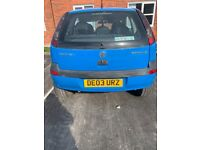 Vauxhall, CORSA, Hatchback, 2003, Manual, 1199 (cc), 3 doors