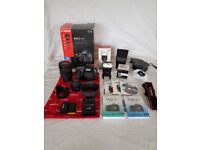 Canon 5d mkii + Lenses + Lights + LOADS