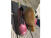 Dr Marten Ox Blood boots. UK size 4. New but without box.