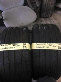 255/35/19 255-35-19 2553519 96Y TOYO PROXES PAIR OF 2 TYRES