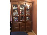 Display cabinet/buffet hutch