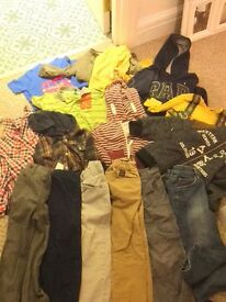 Bundles of boys clothes 2-3 years