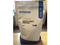 MyProtein Vanilla and Raspberry Whey Protein - 2.5kg