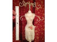 Vintage Mannequin Jewellery Hanger - Great stocking filler
