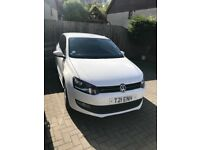 VW White Polo - Great condition, full service history
