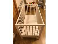 IKEA Sniglar Cot Bed / Mattress / Guard Rail