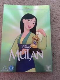 Disney Mulan special edition DVD cover