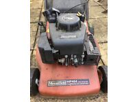 Free Mountfield lawn mower. Good for parts?