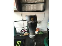Light up Guinness bottle opener man cave