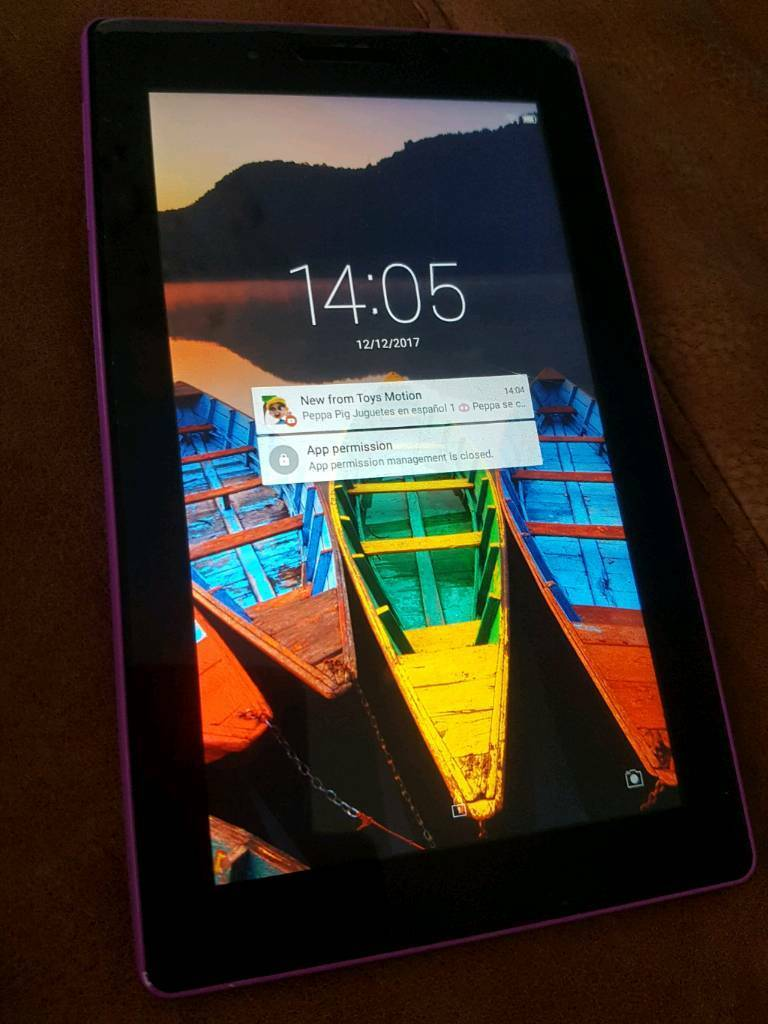 Lenova tab 3 (purple)