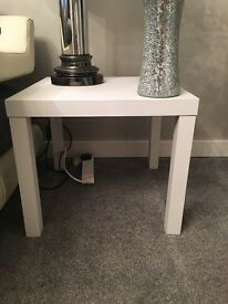 White side table/ coffee tables