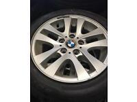 BMW 3 Series E46 E90 Winter Alloy Tyre Set