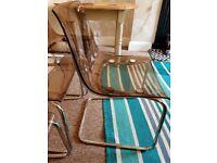 Ikea tobias dining chairs-retro style
