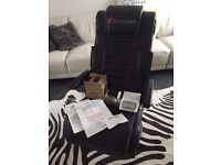 NEW WIRELESS X ROCKER PRO GAMING CHAIR - BOXED COMPLETE WITH ALL ACCESSORIES!