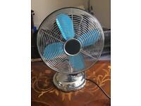 Retro oscillating fan