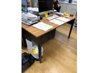 7 x Black Arkelstorp desks from Ikea - Collection Oxford Circus or Brixton £150 RRP each