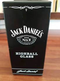 Jack Daniels Highball glass new