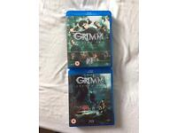 Grimm complete season 1+2 blu ray