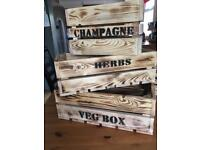 Hand crafted Veg Boxes.