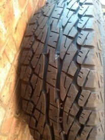 New Tyre 275 65 17 in Greenford area Just the one