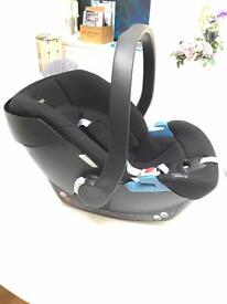 Cybex Aton 2 car seat 0-13kg ultralight and compact yet one of the best on the market for safety
