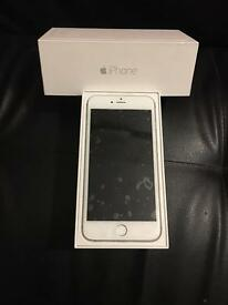Silver iPhone 6 Plus 16 GB with new screen