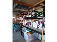 3 Bays Heavy duty Sturdy 3 tier Metal shelving racking Adjustable H 6.2 ft x W 6.6 ft x D 2 ft