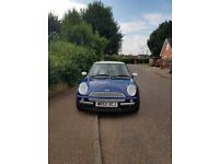 52 Plate Mini Cooper, good condition, low mileage for age £1,200 ONO