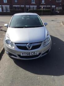 Vauxhall corsa 1 owner 58plate