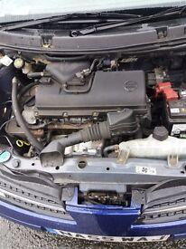 Nissan micra 5dr 1.4 55reg