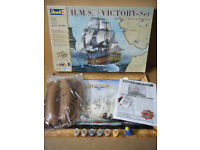 "Revell ""HMS VICTORY- Set"" 200 years Battle of Trafalgar. Scale 1:225. All parts are sealed."