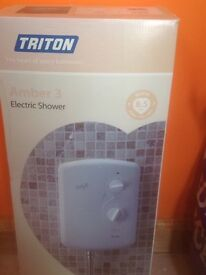Triton Amber 3 Electric shower 8.5W brand new