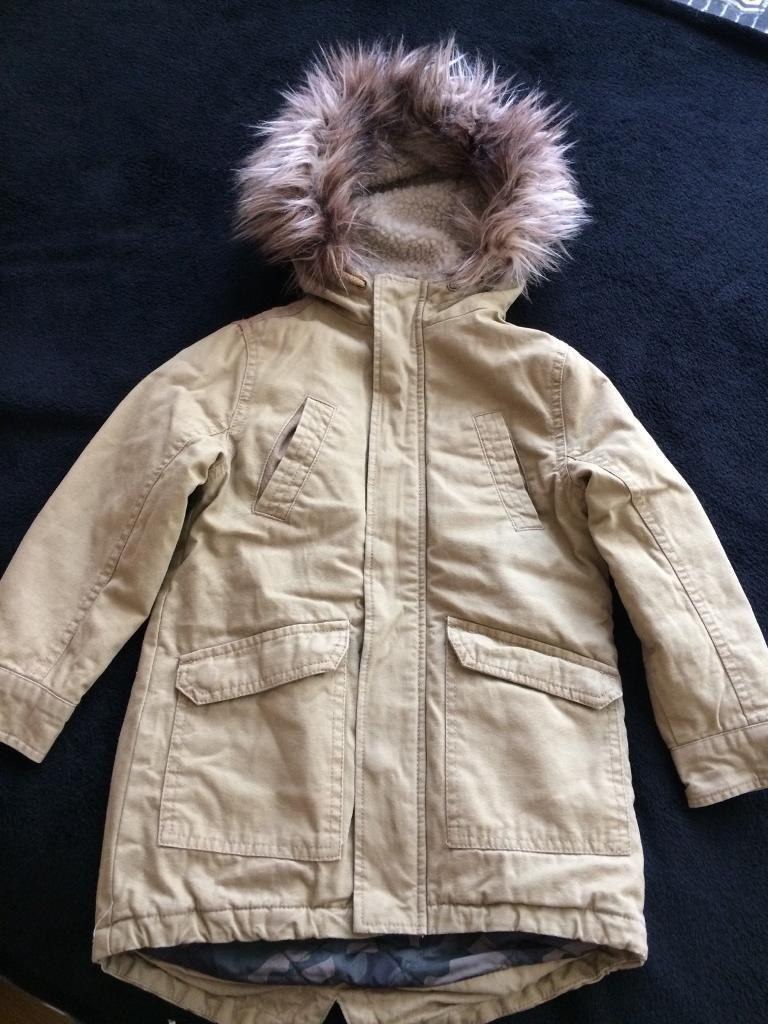 Boys winter Parker jacket age 4
