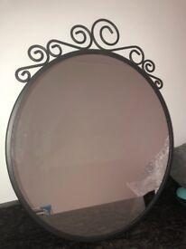 ikea metal mirror