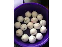 TITLEIST Pro v1 and v1x golf balls