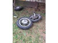 Motor mike wheels