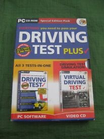 Three Driving Test DVDs -Are You Ready, Theory and Hazard Perception for £3.00