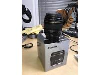 Canon 85mm f1.8 - mint £200
