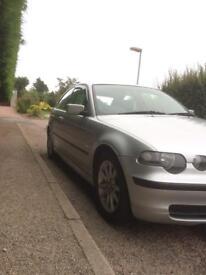 BMW e46 316ti 1.8 compact 12 month MoT